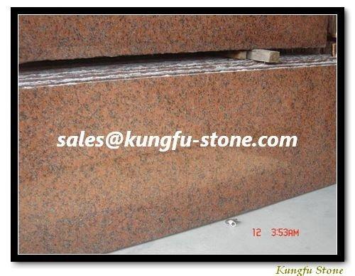 Garden Red Granite G562 Slab+Fine Shipping Charge+ Installation Advises
