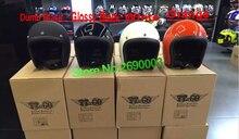 Бесплатная Доставка Мотоциклетный Шлем Марка Япония MOKALA СКОРОСТЬ Томпсон Стекла Стали Старинных мотоциклов шлем Harley мотоциклетный шлем