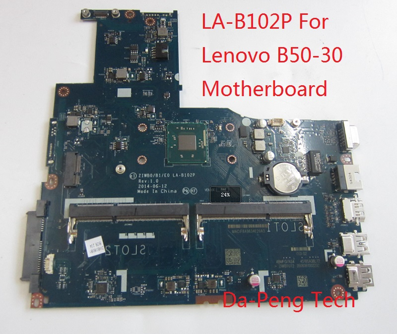 KEFU ZIWB0 B1 E0 LA B102P with cou For Lenovo B50 30 Motherboard without graphics card