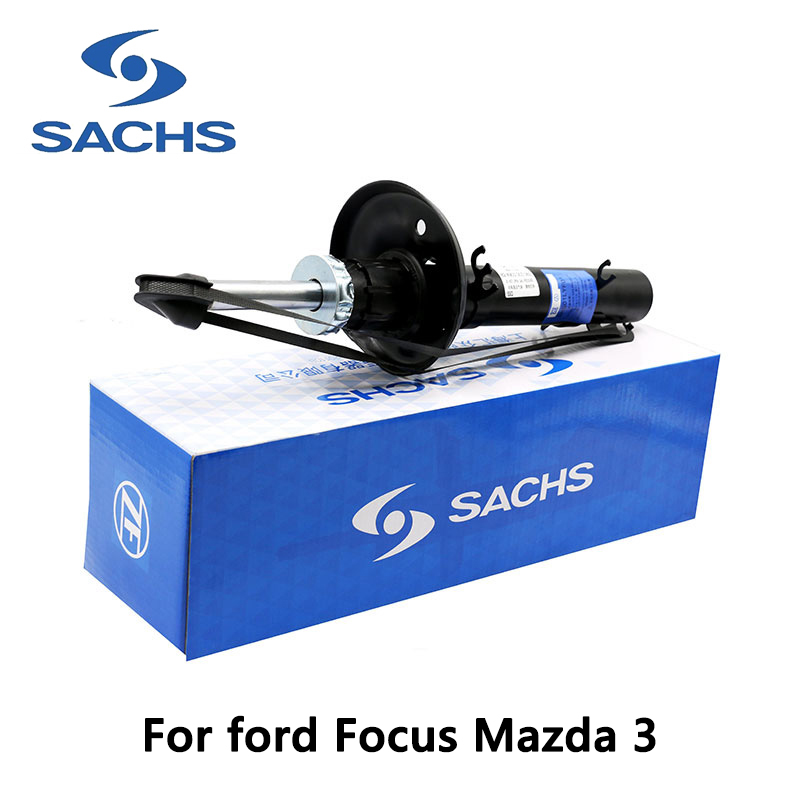 1pieces Sachs Front Left Car Shock Absorber For ford Focus Mazda 3 auto part monroe left car shock absorber g8010 for opel vectra c original series auto part pack of 1