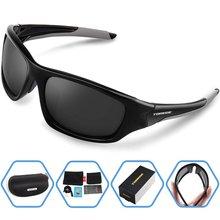 Homens Marca Designer Polarized Óculos de Sol Para Mulheres Dos Homens de Golfe TR90 Unbreakable Frame Moda Estilo Goggle Eyewear