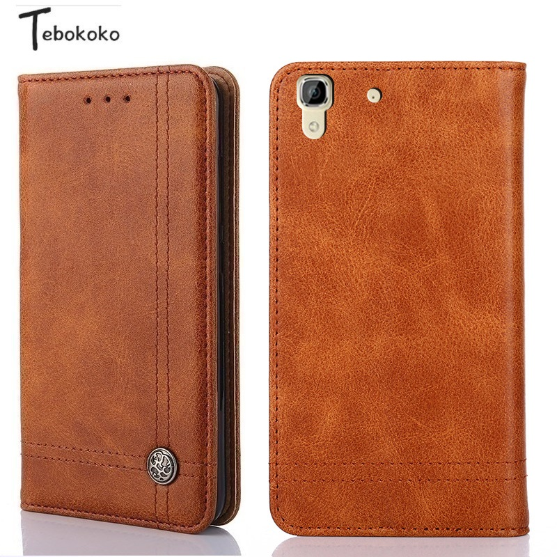 For Huawei Y6 2015 Case Soft Silicone PU Leather Card Holder Wallet Flip Cover for Huawei Honor 4A 5.0inch Funda