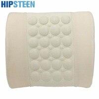 New 12V Car Cushion Pillow Electric Cigarette Powered Heated Waist Lumbar Massage Cushion Pillow Support Pad