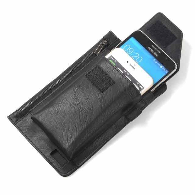 عالية الجودة متعددة الوظائف سستة حقيبة الرأسي حزام الخصر الهاتف المحمول حالة الحافظة ل xiaomi mi ماكس ماكس 2