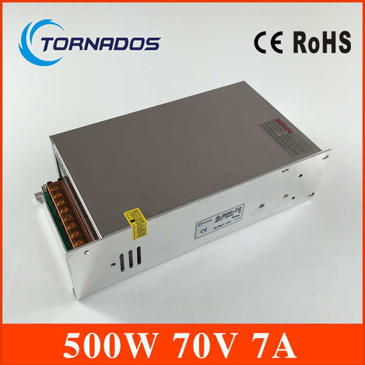 Professional  DC Power Supply 70V 7A 500w Led Driver Transformer  SMPS for Engraving machine, laser cutting machineProfessional  DC Power Supply 70V 7A 500w Led Driver Transformer  SMPS for Engraving machine, laser cutting machine