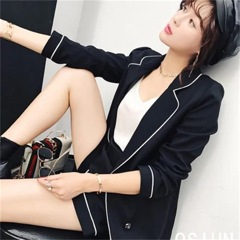 Fashion suit Small fragrant wind shorts suit jacket female new casual fashion two piece