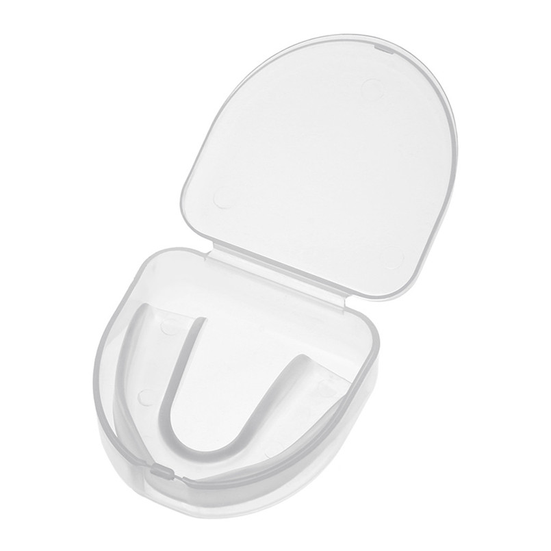PVC Boxing Guard CLEAR Gum Shield Teeth Sleeve Tooth Protector Mouth Guard Piece Rugby Football Boxing Braces
