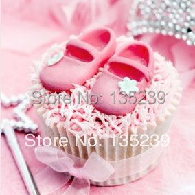 Factory Wholesale 5sets Silicone Baby Shoe Fondant Mould