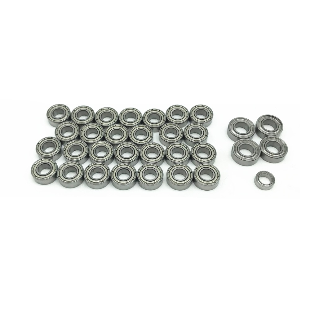 32pcs Complete Ball Bearing Kit For 1/14 Series Tractor Scania620 MAN Toy Model Bearing