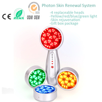 Electronic IPL Photon Led PDT Light Therapy Micro Current Skin Rejuvenation Pigment Wrinkle Removal Face Body Beauty Massager
