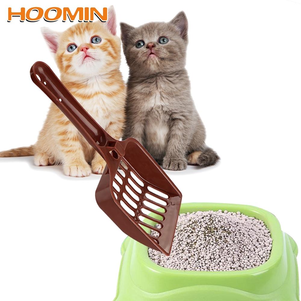 HOOMIN Dog Cat Litter Shovel Plastic Scoop Pet Cleanning Tool Universal Scoop Random Color Pet Supplies