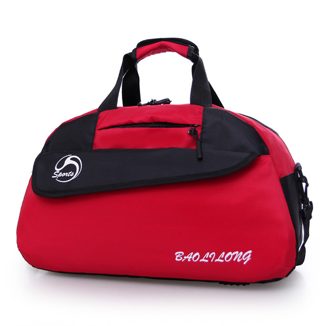 f81fe949 US $24.14 |Brand Design Women's Sports Bag Waterproof Sport Gym Bags  Training Yoga Mat Bag Women Sports Shoulder Bag for Women Gym Fitness-in  Gym Bags ...