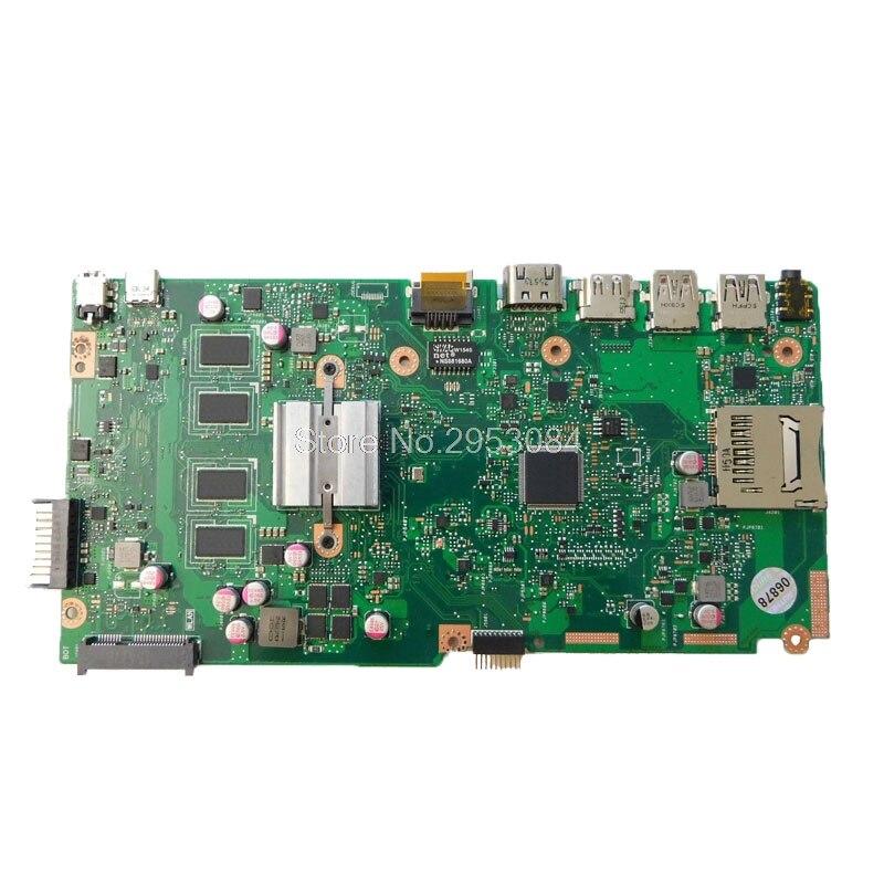 for ASUS X540SA Laptop motherboard X540SA mainboard REV2.1 processor onboard 100% tested S-4 asus vivobook x540sa chocolate black x540sa xx012d