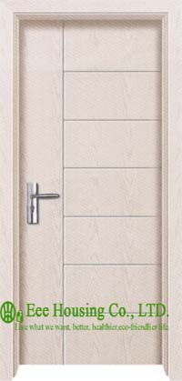 Modern Interior Swing PVC Door