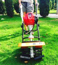 Professional GX35 heavy duty garden tool 1.3HP gasoline 4 stroke Tiller Garden mini Cultivator petrol cultivator