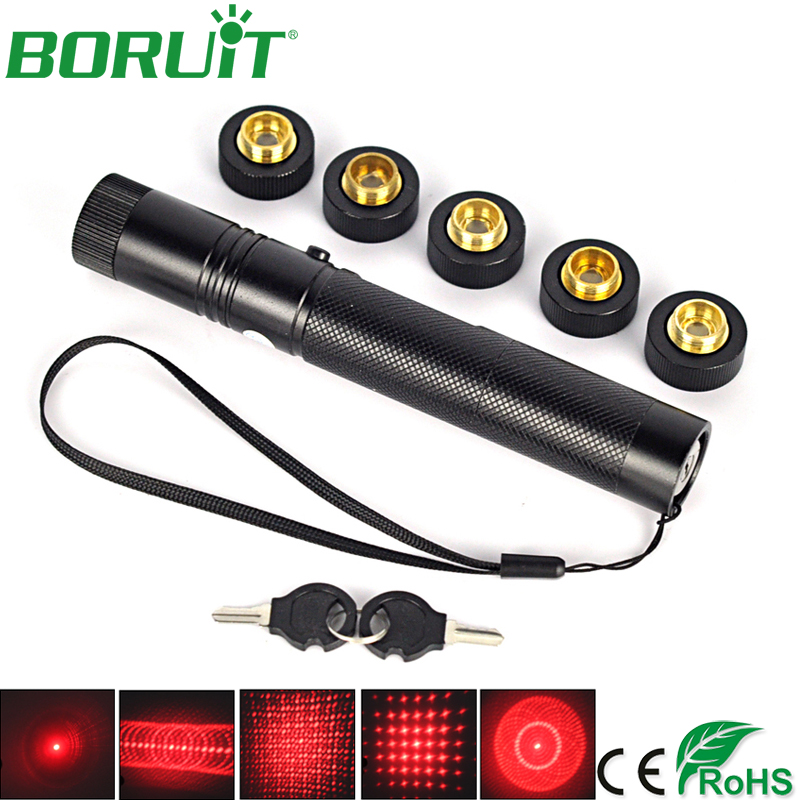 BORUiT 303 5mw Laser Flashlight Red Laser Pointer Teaching Indicator Flash Light Portable Tactical Camping Hunting Torch LightsBORUiT 303 5mw Laser Flashlight Red Laser Pointer Teaching Indicator Flash Light Portable Tactical Camping Hunting Torch Lights