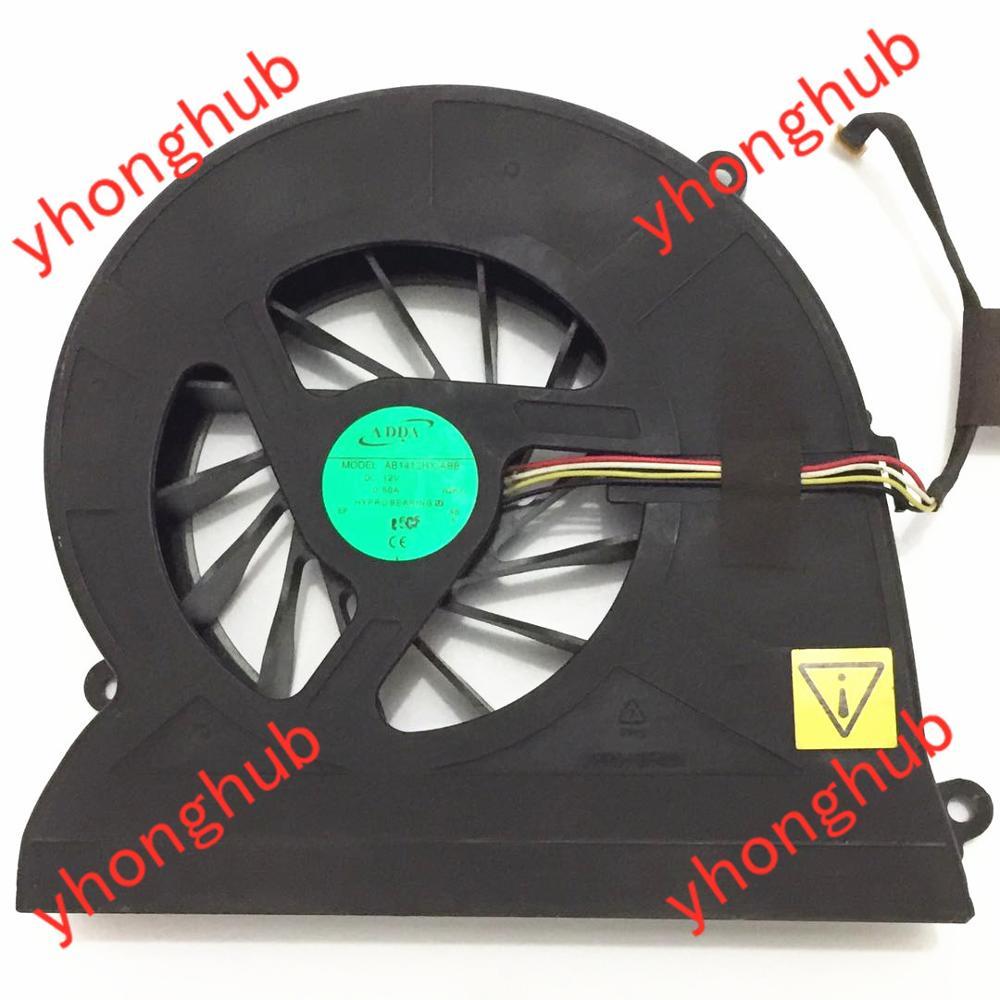 ADDA AB1412HX ABB DC 12V 0 50A 4 wire Server Cooler Fan