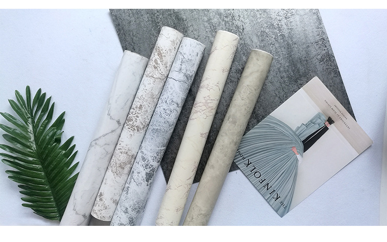 PVC marble wallpaper self-adhesive office living room bedroom stone wallpaper stickerPVC marble wallpaper self-adhesive office living room bedroom stone wallpaper sticker