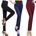 S-XXXXL Plus Size Womens Leggins 2015 Fashion Four  Pockets Stitching Leggings High Waist Was Thin Pants calzas leggins  BG497