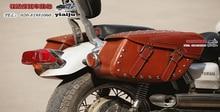 Free shipping motorcycle side bag satchel largeWang skull Kito side box side edging tool kit bags saddle bag