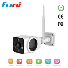 Funi HD 1080P Wifi IP Camera Outdoor 360 Degree FishEye Security Camera P2P IR Network Waterproof Bullet Surveillance Camera