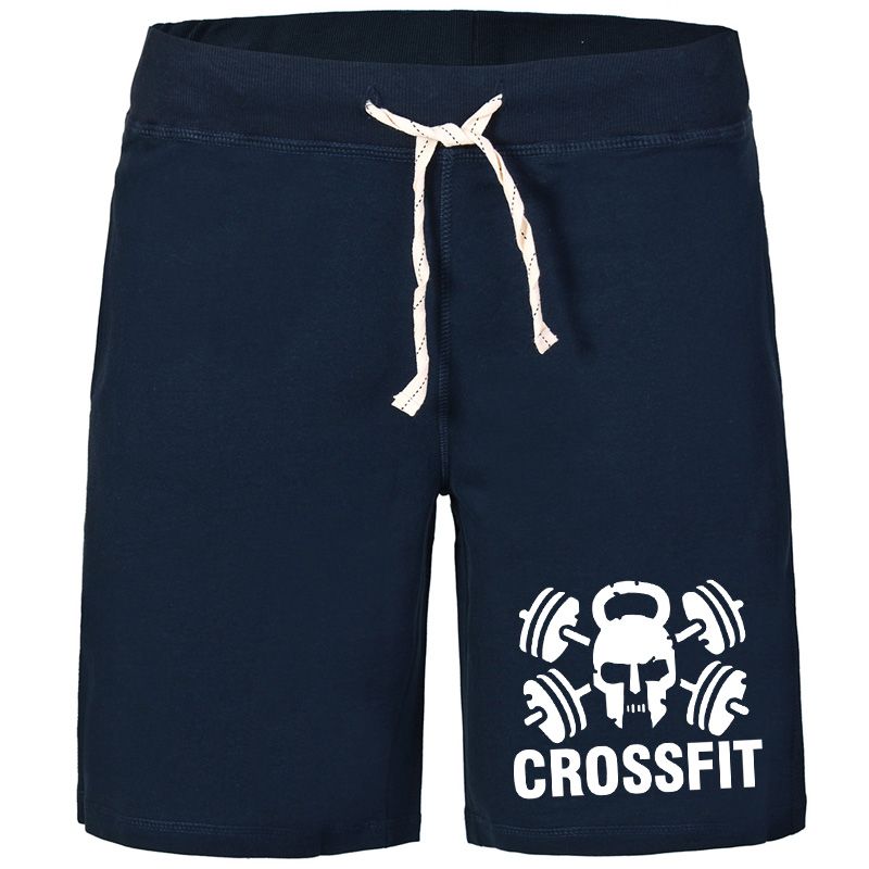 GYM Durable Shorts Crossfit Skull Motor Style Classics Breathable Solid 100% Z Cotton Best Selling With Pockets Running Jogger