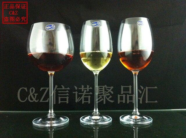 Bohemian Crystal Red Wine Gl Gles White Goblet