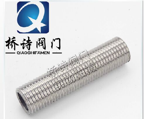 """1/2""""NPS Full Thread Nipple 50MM L Stainless Steel 304 Pipe Fitting Homebrew Hardware"""
