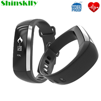 M2 Bluetooth Passometer Smart Band Blood Pressure Blood Oxygen Fitness Tracker Bracelet Heart Rate Monitor Wristband