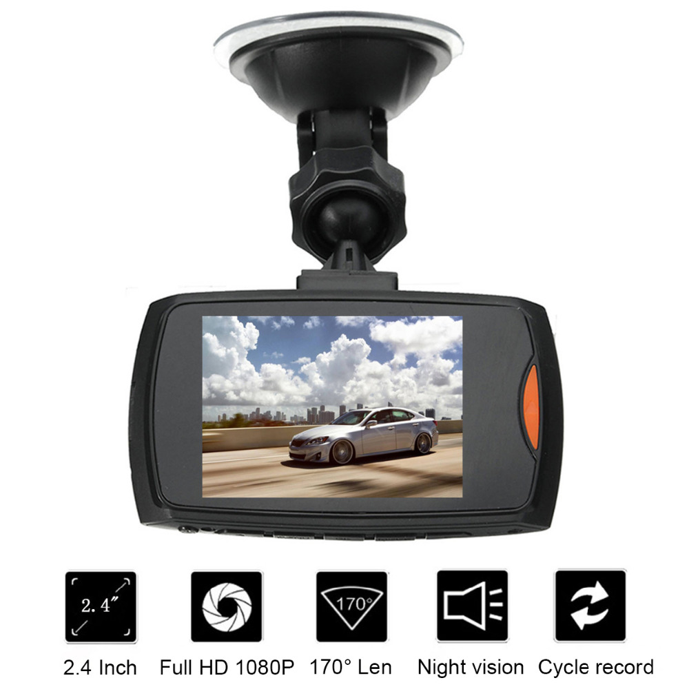 HD 1080 P Mini Portatile Dash Cam G-sensor Car DVR Blackbox Macchina Fotografica dell'automobile 2.4 Pollici Veicolo Automobile Azionamento di Video Registratori di Notte visione