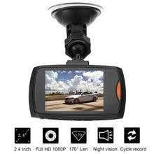 HD 1080 P мини Портативный регистраторы g-сенсор Видеорегистраторы для автомобилей Blackbox Автомобильный Камера 2.4 дюйм(ов) автомобиля диск видео рекордеры Ночное видение