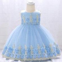 New Fashion Girl Birthday Dress Cotton Baby Dresses Girl Pri