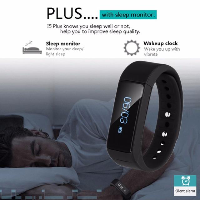 Diggro i5 más inteligente pulsera smartband ip67 relojes oled bluetooth 4.0 con sleep tracker rastreador de fitness de salud