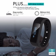 Фитнес-трекер diggro I5 плюс Смарт Браслет IP67 smartwatches OLED SmartBand Bluetooth 4.0 с Сна Трекер здоровье