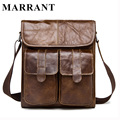 MARRANT Genuine Leather Men Bags Fashion Male Messenger Bag Men's Small Briefcase Man Casual Crossbody Bags Shoulder Handbag 366
