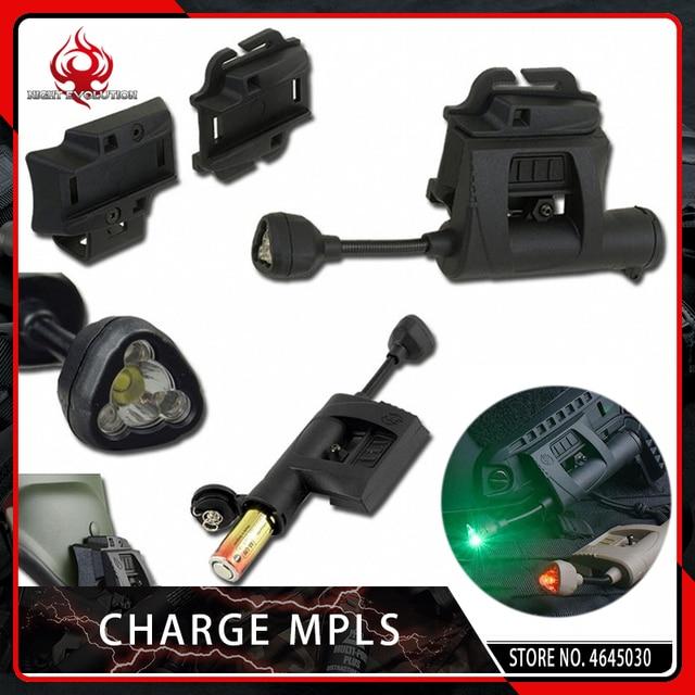 לילה האבולוציה פנס תשלום MPLS קסדת פנס תאורה ירוק אדום לבן IR לייזר ציד צבאי טקטי אור