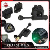 Night Evolution Headlamp Charge MPLS Helmet Flashlight Illumination Green Red White IR Laser Hunting Military Tactical Light