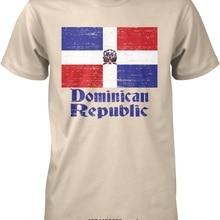 c1301be0 Funny Men t shirt Women novelty tshirt Flag Dominican Republic DR Pride T- Shirt