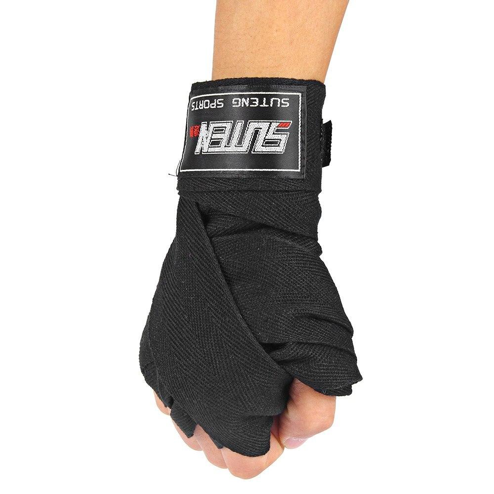 Hand Wrap Gloves Aliexpresscom Buy 1 Pair 25m Boxing Handwraps Sanda Fighting