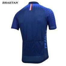 2018 france cycling jersey men summer short sleeve bike wear esp jersey road jersey cycling clothing maillot braetan