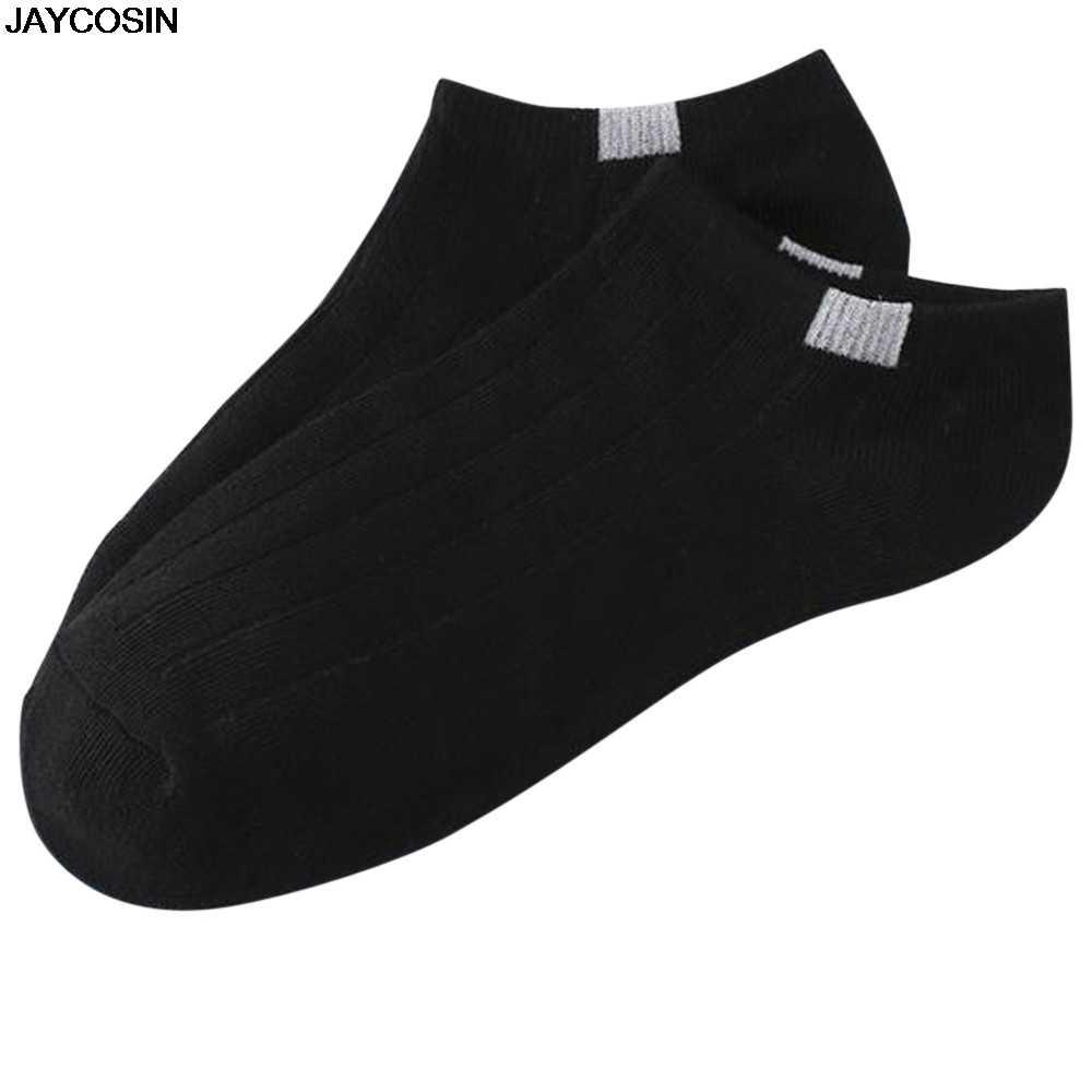 JAYCOSIN Для женщин Для мужчин 1 пара носков в стиле унисекс удобные полосатые хлопковые носки тапочки короткие носки Повседневное ежедневные носки горячая распродажа 20190226