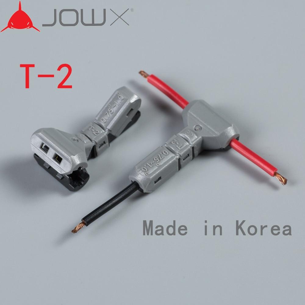 5PCS 1/2pin 1/T type Scotch Lock Quick Splice Wire Connectors for ...