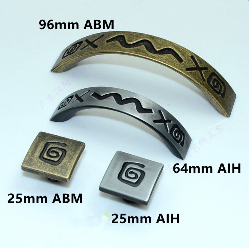 64mm stain antique iron drawer cabinet knobs pull 96mm vintage bronze dresser door handle retro furniture hardware handles knobs furniture drawer handles wardrobe door handle and knobs cabinet kitchen hardware pull gold silver long hole spacing c c 96 224mm