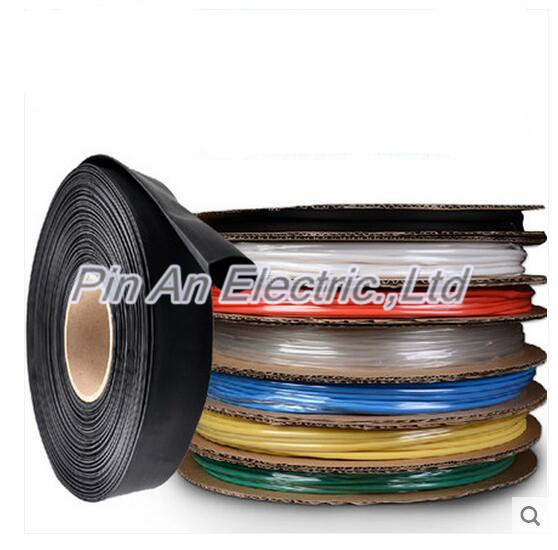 30MM  Heat shrinkable tube  heat shrink tubing Insulation casing 25m  a reel Rohs inflame 25m/roll