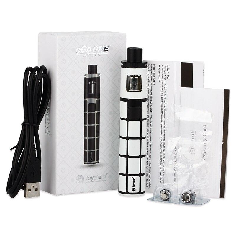 Инструкция для электронной сигареты Joyetech eGo ONE TFTA