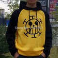Hot sale One Piece Trafalgar Law Hoodie Jacket coat Cosplay Costumes