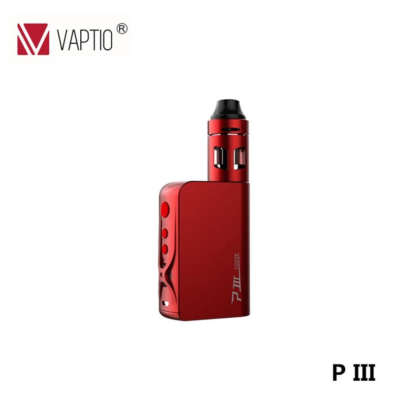 Electronic Cigarette Original Vaptio P III 100W TC Box Mod Temper Control Vaporizer VW TC with 3000 Battery E-Cigarette vaptio ascension s50 4200mah box mod kit electronic cigarette kit