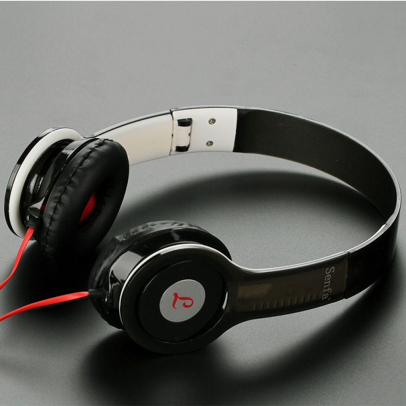 font b Portable b font Foldable Headband Headphone Sound Noise Reduction Gaming Headset Wired Strong