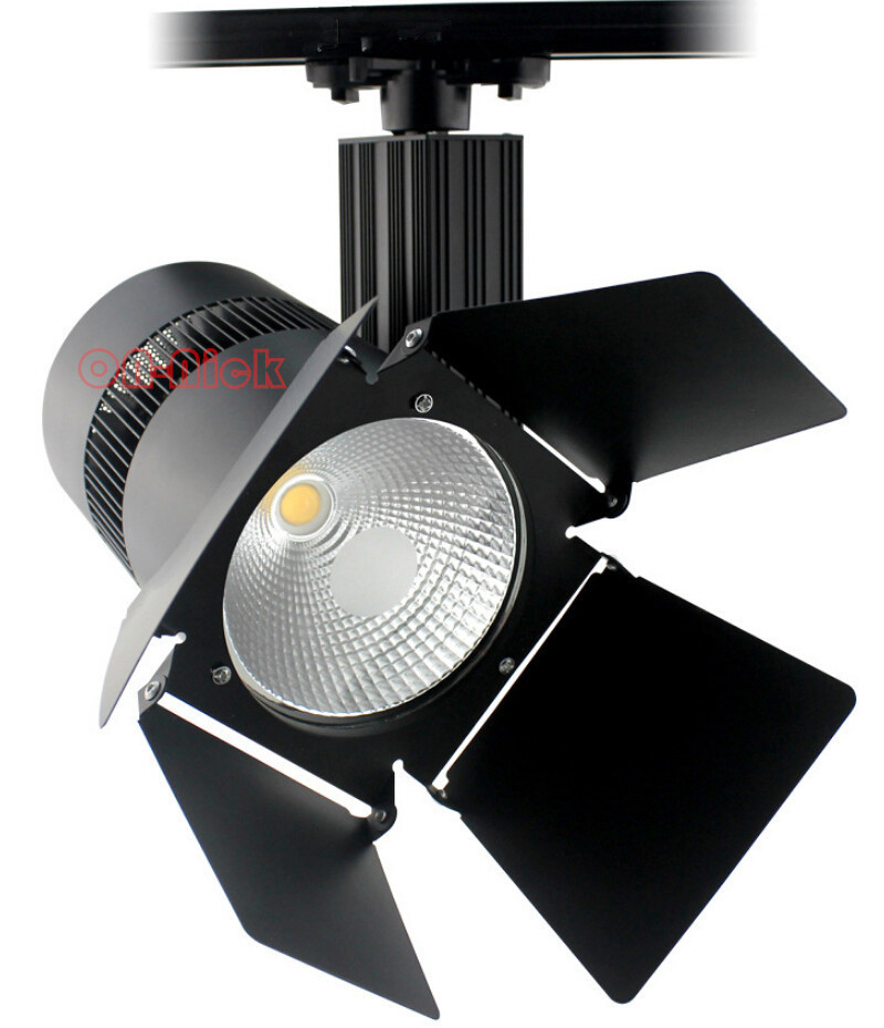 high quality 40w 50w cob led track light spot led track lam ac 85 265v cloth shop store. Black Bedroom Furniture Sets. Home Design Ideas