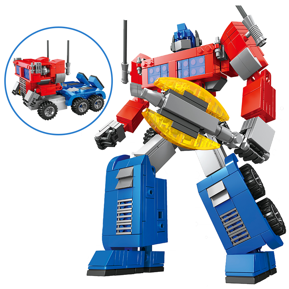 2in1 Transformation Toys Robot Cars Vehicle 3D Model Building Blocks Set Compatible Legoed Technic Action Figures Gifts For Kids haptic information in cars